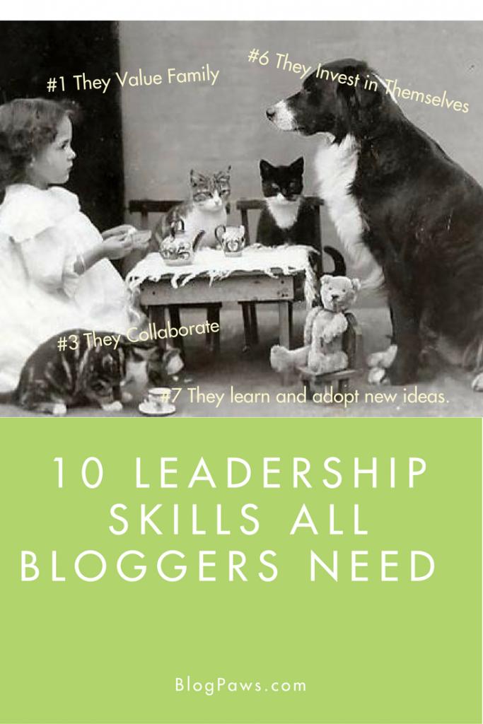 Leadership skills for the blogging professional