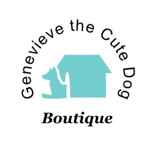 Genevieve the Cute Dog Boutique Logo