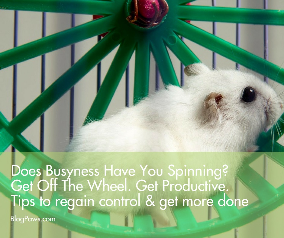 stop busyness and get productive