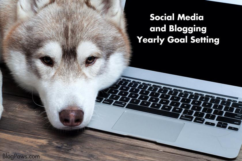 ocial Media Goal Setting blog hop