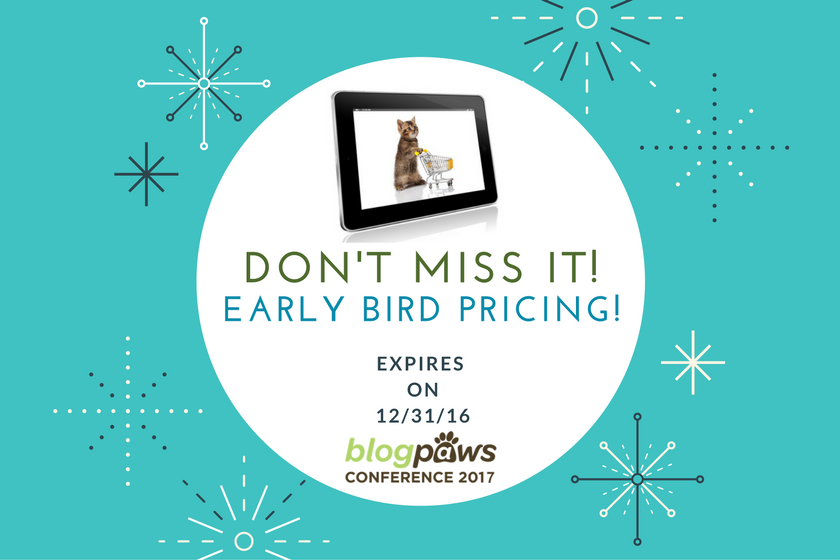 BlogPaws 2017 Conference early bird