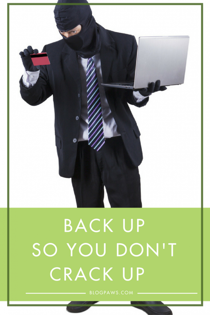 Tips to back up your blog