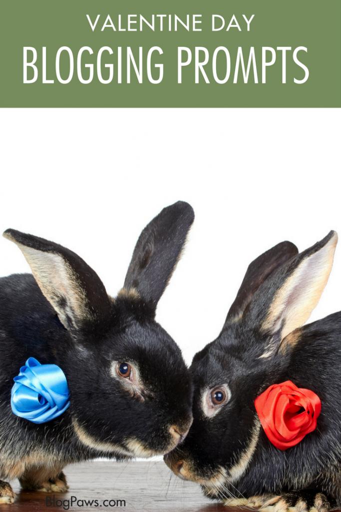 Valentines Day blog prompts