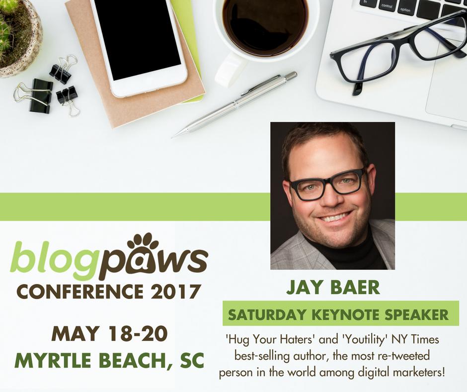 Jay Baer BlogPaws speaker