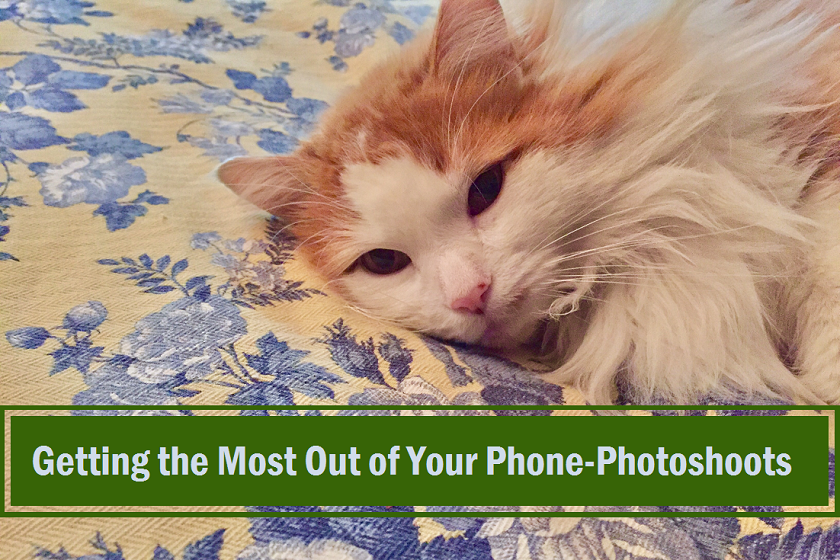 Getting the most out of your phone for photoshoots