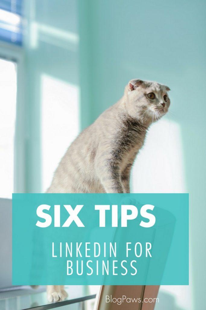 6 tips for linkedin for business