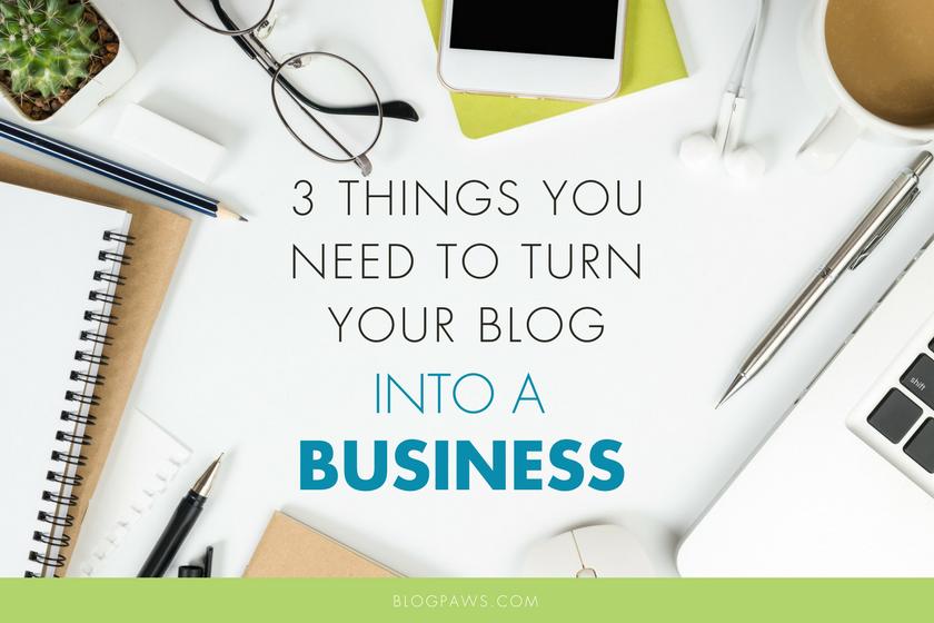 The Business of Blogging | BlogPaws.com