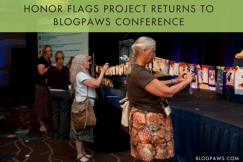 Honor Flags Project Returns to BlogPaws Conference