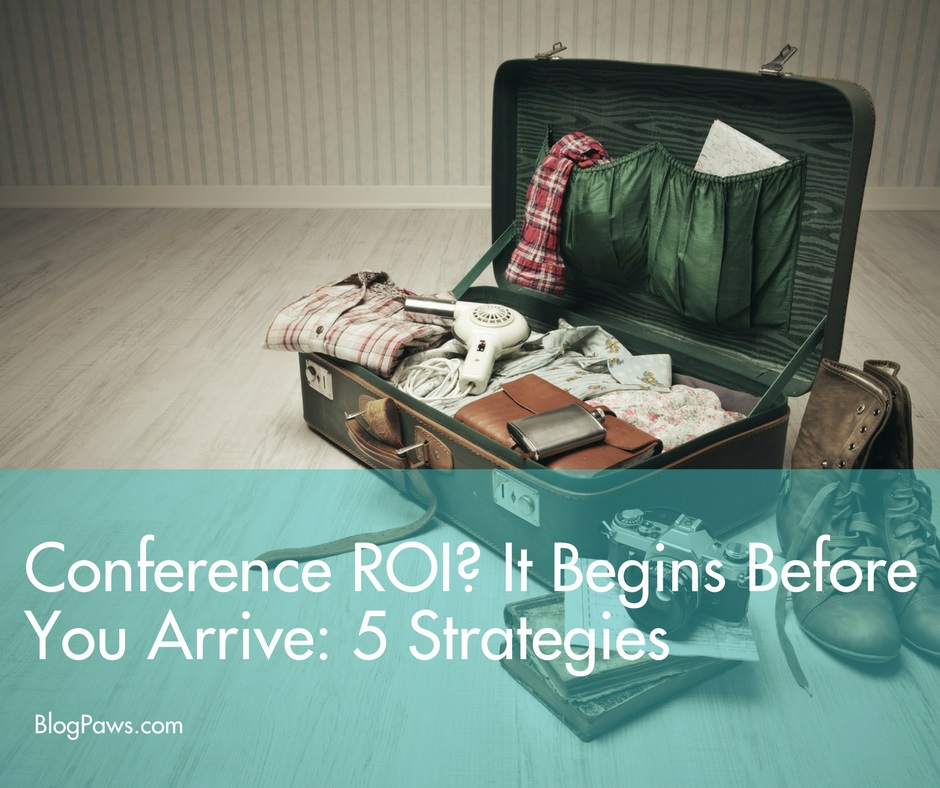 strategies for conference roi