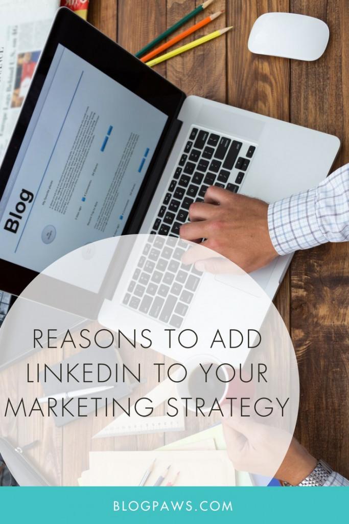 add linkedin to marketing strategy