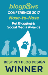 Best Pet Blog Design badge