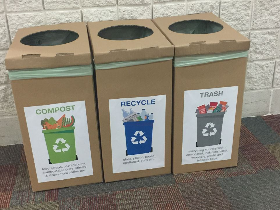 Compostable Bins and More