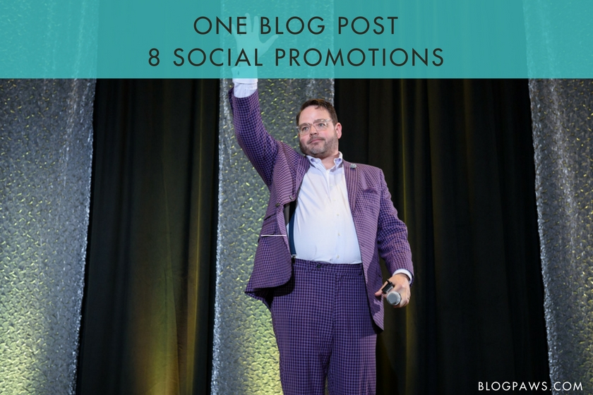 One Blog Post 8 Content Promotions
