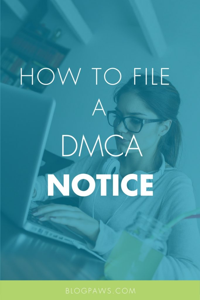 How to file Google DMCA complaint