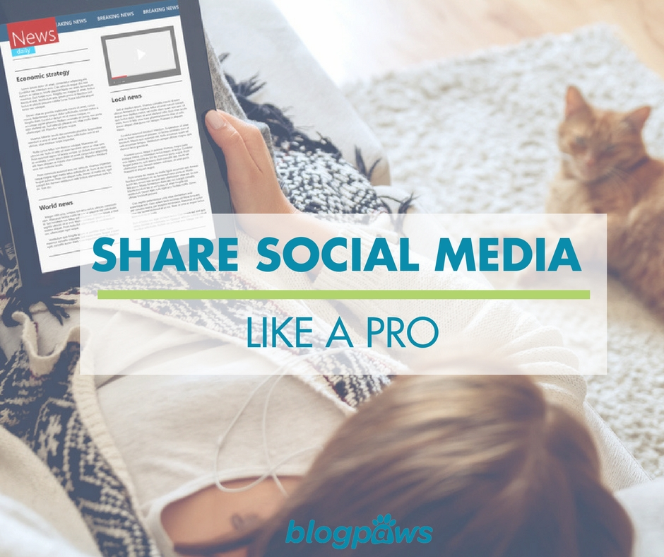 Tips for sharing social media content