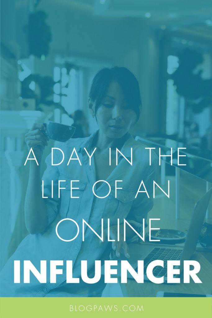 Online influencer tasks