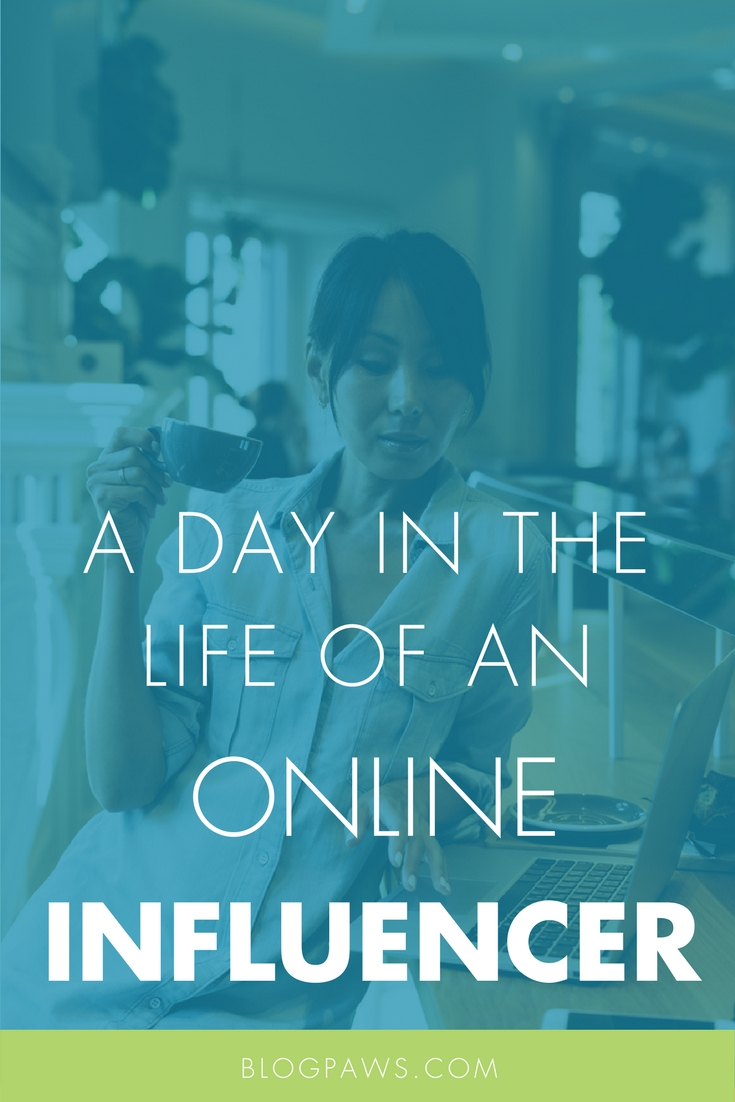 Online influencer tasks