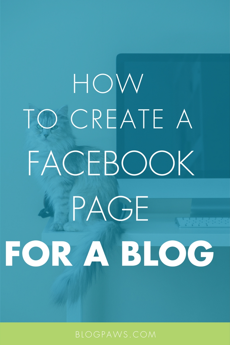 How to create a Facebook page for a blog