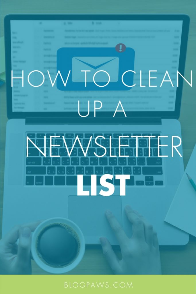 Newsletter clean up tips