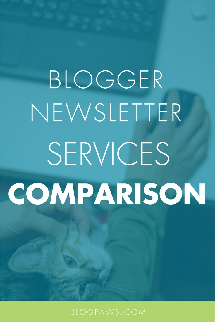 Bloggers and newsletter services