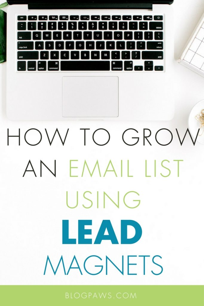 How to grow an email list