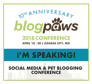 I'm Speaking at BlogPaws 2018!