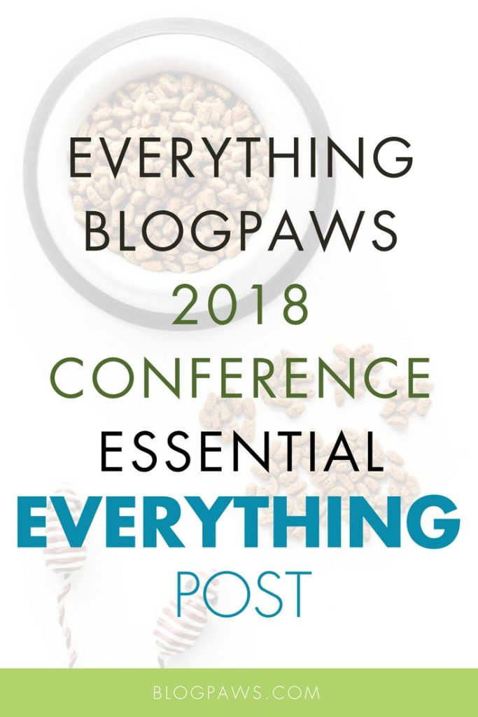 BlogPaws 2018 Conference post