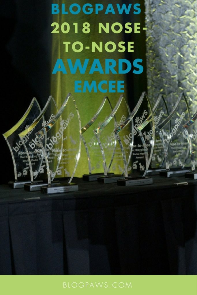 BlogPaws Conference awards emcee