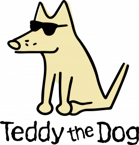 Teddy The Dog Logo