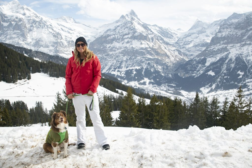 Teammates Gryffin and Chelsey - Gindelwald, Switzerland - The Pack