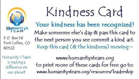 Kindness-Card- Humanitys-Team