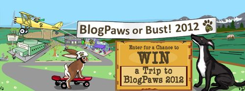 BlogPaws or Bust 2012