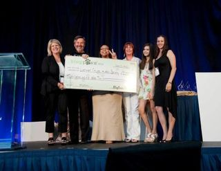 BlogPaws-2012-Lena-West-Donation