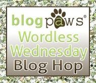 BlogPaws Wordless Wednesday Blog Hop Badge