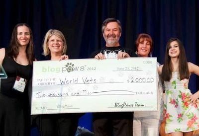 World vets donation