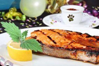 Grilled Blog Salmon
