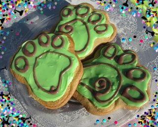 Vegan Paw Cookies